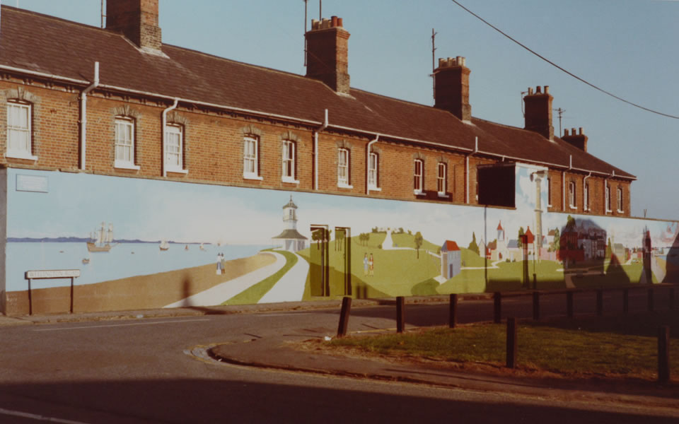 The Harwich Mural