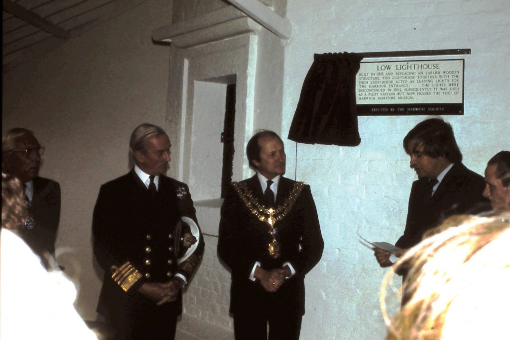 Official opening 4th October 1980.