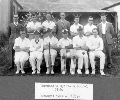 Bernard's Cricket Team